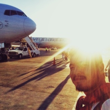 Leaving Grenada after two months.