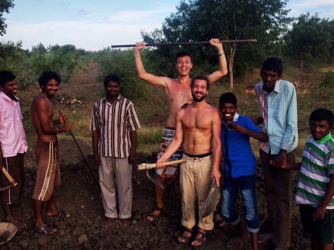 A very local experience in the scrublands of Tamil Nadu.