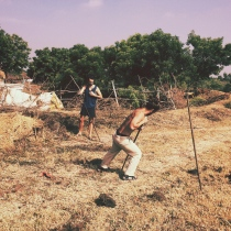 sristi-village-field-work