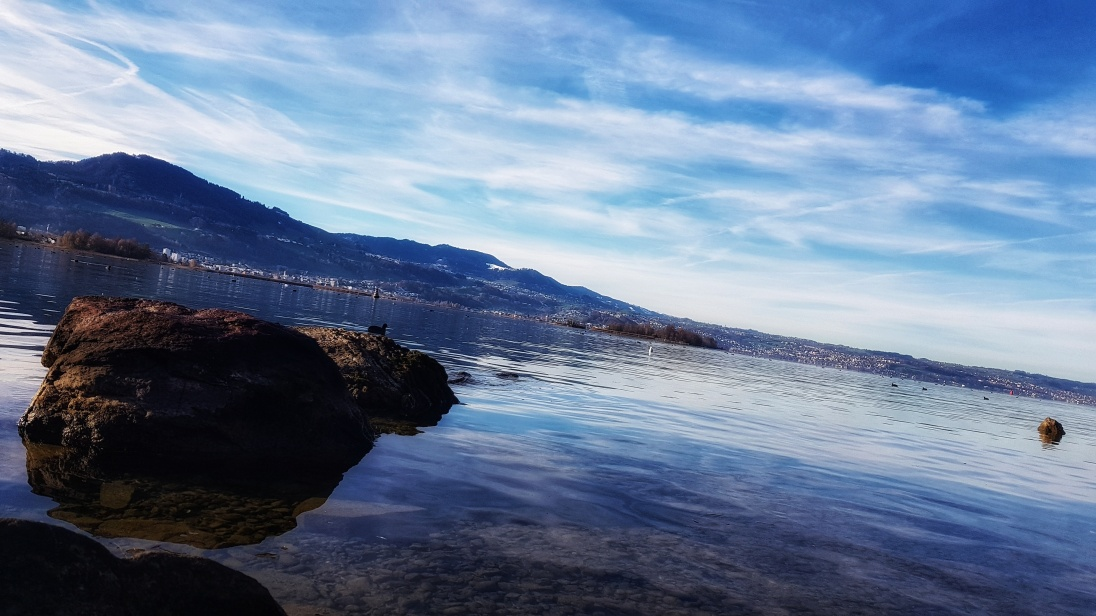 The lake of Zurich.