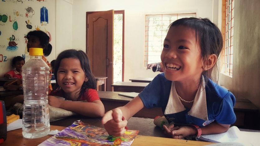 Games are making little students go energetic.
